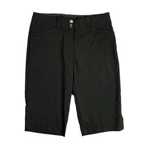 LIKE NEW NikeGOLF Dri-Fit Black Bermuda Shorts 6